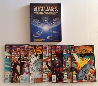 Lot of Star Trek Comics & The Star Trek: The Star Trek Encyclopedia