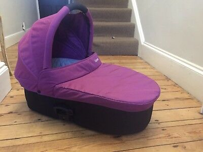 Oyster Carrycot In Purple Fits Oyster 1,2 And Main Seat Of The Oyster Max