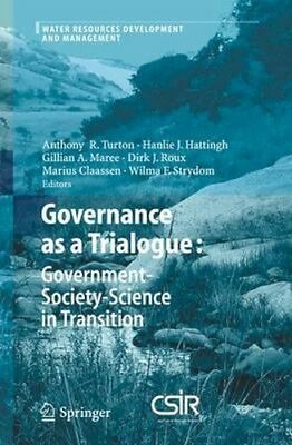 NEW Governance As A Trialogue: Government-Society-Science... BOOK (Paperback)
