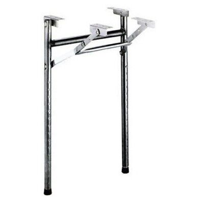 Folding Black Adjustable Poker Table Legs  (Pkg./2)