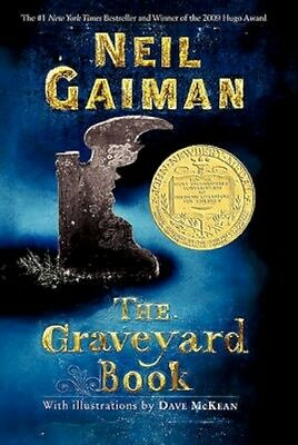 NEW The Graveyard Book by Neil Gaiman BOOK (Paperback) Free P&H
