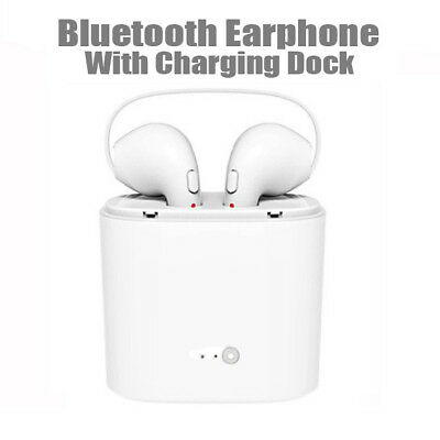 Mini Wireless Bluetooth Earphones Headphones Airpods for iPhone X 8 7 7 Plus