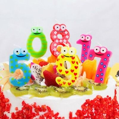 Number Candle Cake Candles Number Ages Party Kids Birthday Decorations