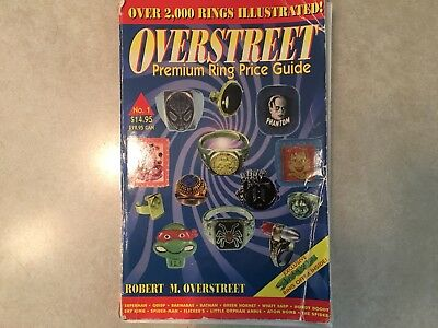 Premium Ring Character Comic Tv Prize Overstreet Paperback Price Guide Book