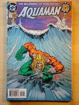 Aquaman (1994) # 0 (Nm) Peter David, Zero Hour
