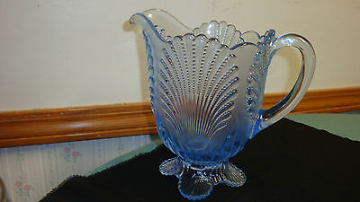 Mosser Blue Shell Pitcher