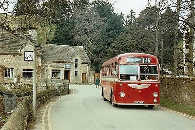 United Automobile Services Bus Bristol, MW6G 519 LHN on 145 Service To Pateley B