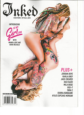 INKED TATTOO MAGAZINE September 2017, Culture, Style, Art. - $19.99 ...