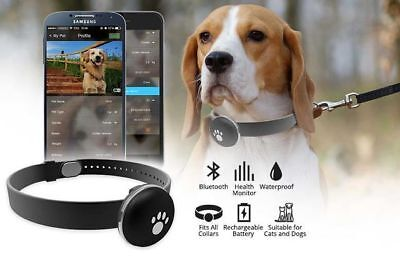 PetRover Animal Pet Health Activity Monitor Tracker - Pet Dog Cat Bluetooth
