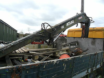 Hiab Crane For 7.5 Ton Lorry Atlas