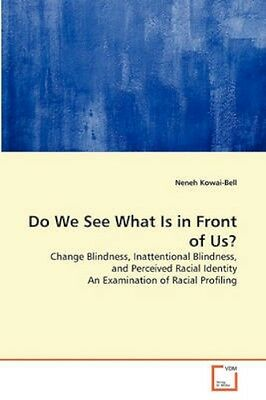 NEW Do We See What Is In Front Of Us? by Neneh... BOOK (Paperback / softback)