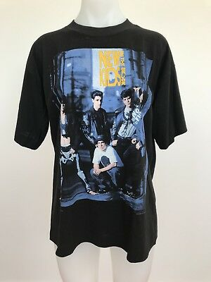 DEADSTOCK Vintage NEW KIDS ON THE BLOCK T SHIRT 1991 New Step Productions