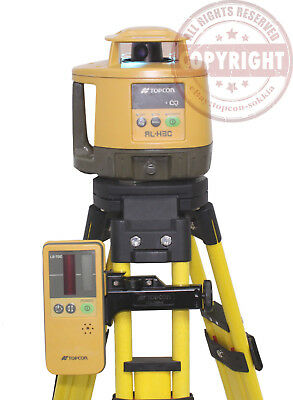 Topcon Rl-H3C Self-Leveling Rotary Laser Level, Spectra, Rugby,hilti,transit