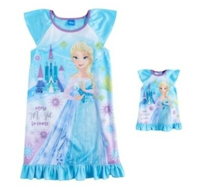 Girls Gown and Matching Doll Gown Original Price $32 3t Frozen