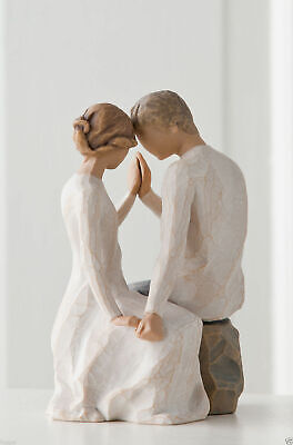 Willow Tree Figurine Around You Young Couple Romantic Love Susan Lordi  27182