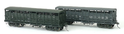 SDS HO 1959 BCW Cattle Wagon Pack C (3PK) Weathered