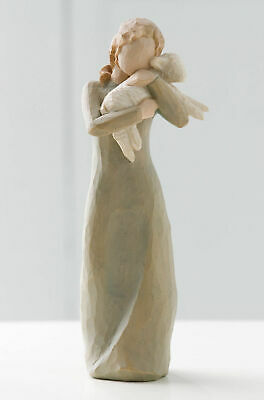 Willow Tree Figurine Peace on Earth - Embrace of Peace By Susan Lordi 26104
