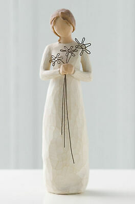 Willow Tree Figurine  Grateful For Your Friendship By Susan Lordi  26147