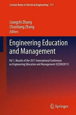 NEW Engineering Education And Management BOOK (Paperback) Free P&H