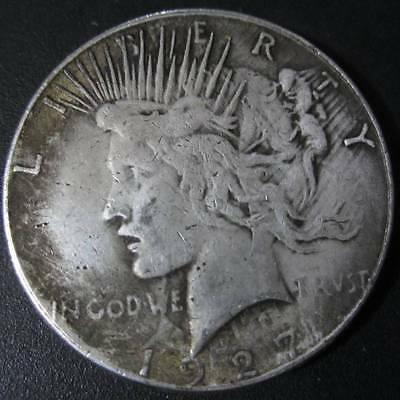 Commemorative Coin Liberty Portrait Embossed American Silver Dollar Coins 1927
