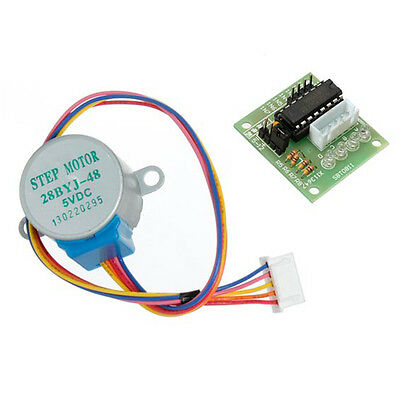2* DC 5V Stepper Motor + ULN2003 Driver Test Module Board 28BYJ-48 for Arduino
