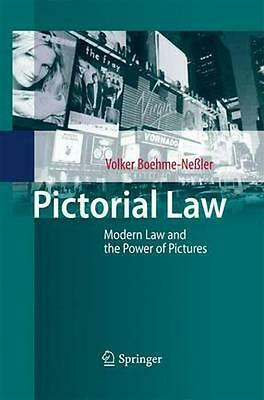 NEW Pictorial Law by Volker Boehme-Nessler BOOK (Paperback) Free P&H