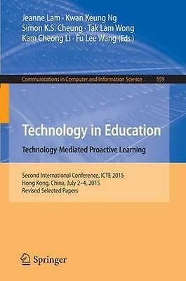 NEW Technology In Education. Technology-Mediated Proactive... BOOK (Paperback)