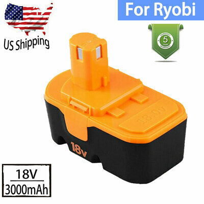 3.0Ah Replace for Ryobi 18V Battery NI-MH ONE+P100 P104 P105 P110ABP1801 ABP1803