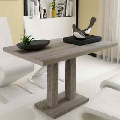 New Dining Table Kitchen Furniture MDF Timber Oak Sticker 120x75cm Rectangle