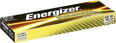 40X Energizer Industrial AA Size Batteries Alkaline 1.5v LR6 MN1500 Battery Cell