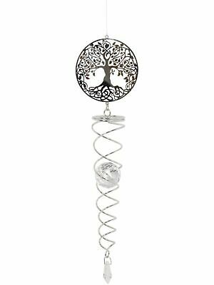 Vortex Spinner Tree of Life Home Garden Ornament Hanging Suncatcher