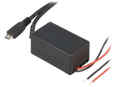 C0013 Automotive power supply USB micro plug 5V/1x2,1A 0.9m C0013-USB PER.PIC.