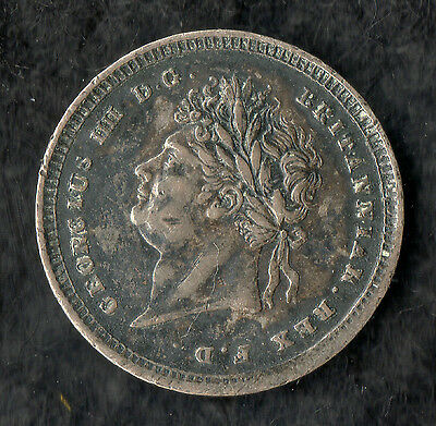 George IV Maundy Twopence Silver 1827