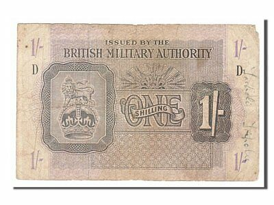 [#154271] Great Britain, 1 Shilling, 1943, KM #M2, VF(20-25), D