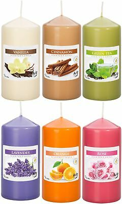 Scented Pillar Candles, 6 scents to choose from, BUY 1 GET 1 FREE!!!