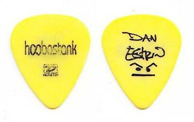 Hoobastank Dan Estrin Signature Yellow Guitar Pick - 2004 Tour