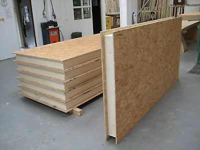 Structural Insulated Panels, SIPs, Self Build, for Garden Office, Studio, Garage