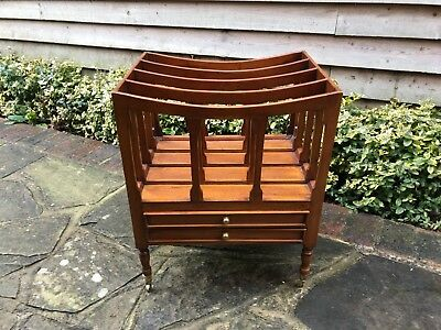 Magazine Rack Canterbury with two drawers