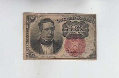 Fractional Currency Civil war era item to the 1870's  vg stains