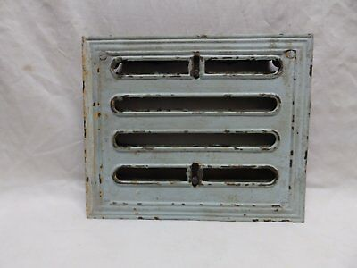 Antique Cast Iron Floor Wall Ceiling Heat Grate Register 12x10 Vtg Old 341-18P