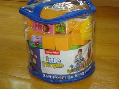 Fisher Price Little People Soft Foam Building Blocks