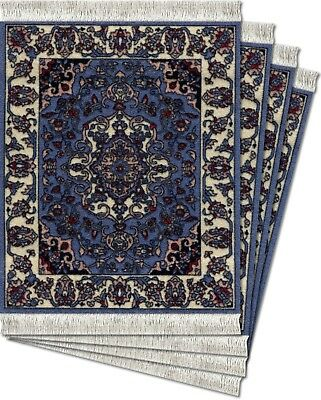 MouseRug Coaster Pads, Jaipur Contemporary 4 pc. New by FiberLok