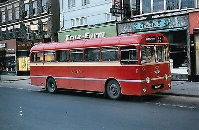 United Automobile Services Bus AEC MU3RV 453 AUP, 68 Service To Willington