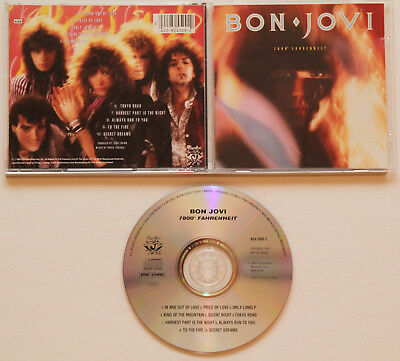 Bon Jovi - 7800° Fahrenheit (1985) Only Lonely, In and Out of Love, Tokyo Road
