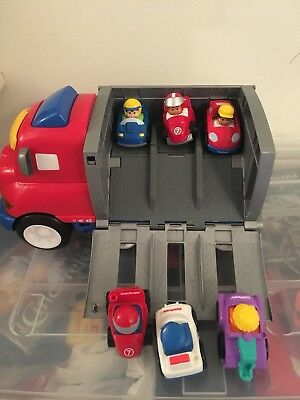 Fisher Price Truck And Little Racers Cars