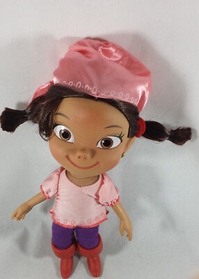 Disney Authentic Jake and the Neverland Pirates Izzy Talking Doll Toy Figure HTF