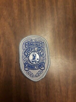 Virginia Department Of Corrections Police Patch **NEW IRON ON**