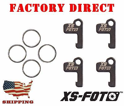 "GoPro WiFi Remote Keys ""4-Pack"" Stainless Steel by XS Foto"