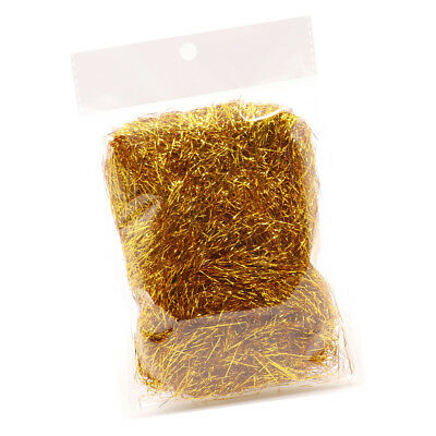 Colorful Fine Shred Metallic Shred Paper for Tinsel Gift Basket Supplies