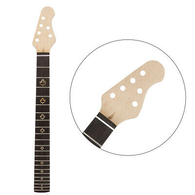 Hot Sale 22 Frets 25.5inch Electric Guitar Neck Maple+rosewood Fingerboard Moderate Cost Shoes